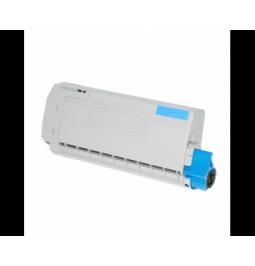 Tóner compatible para OKI C712 Cian