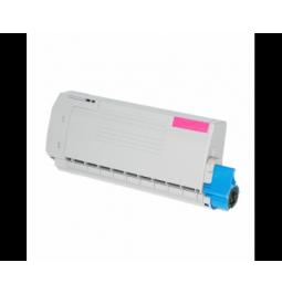 Tóner compatible para OKI C612 Magenta