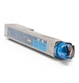 Tóner compatible para OKI C3300 Cian