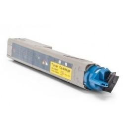 Tóner compatible para OKI C3300 Amarillo