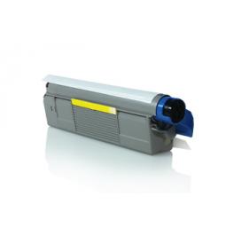 Tóner compatible para OKI C5600/5700 Amarillo