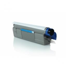 Tóner compatible para OKI C5800/5900 Cian