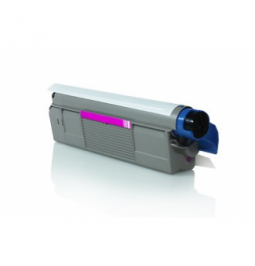 Tóner compatible para OKI C5800/5900 Magenta