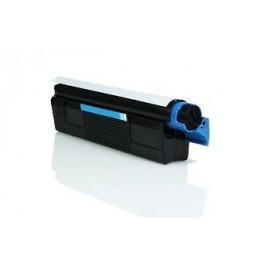 Tóner compatible para OKI C5100 Cian