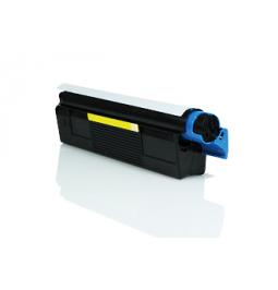 Tóner compatible para OKI C5100 Amarillo