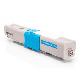Tóner compatible para OKI C310/330 Cian