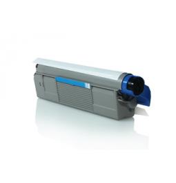 Tóner compatible para OKI C5850/5950 Cian