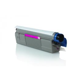 Tóner compatible para OKI C5850/5950 Magenta