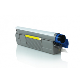 Tóner compatible para OKI C5850/5950 Amarillo