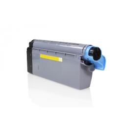 Tóner compatible para OKI C710/711 Amarillo
