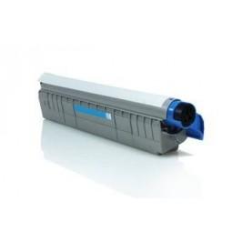 Tóner compatible para OKI C8600/8800 Cian