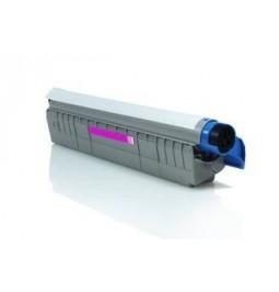 Tóner compatible para OKI C8600/8800 Magenta