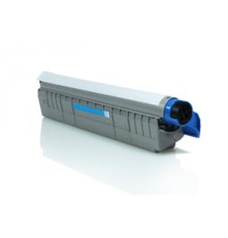 Tóner compatible para OKI C801/821 Cian