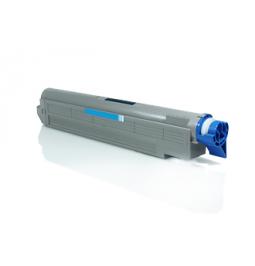 Tóner compatible para OKI ES8460 Cian