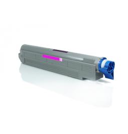 Tóner compatible para OKI ES8460 Magenta