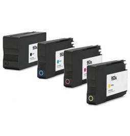 HP 953XL Pack de 4 cartuchos compatibles