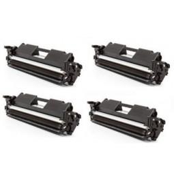 HP CF217A Pack de 4 toners compatibles