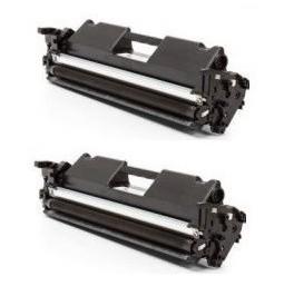 HP CF217A Pack de 2 toners compatibles