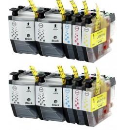 BROTHER LC3219XL Pack de 10 cartuchos compatibles
