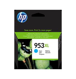 HP 953XL - Cartucho de la marca HP Cyan F6U16AE (Gran capacidad)