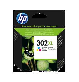 HP 302XL Tricolor - Cartucho de la marca HP 302XL/FU67AE (Gran capacidad)