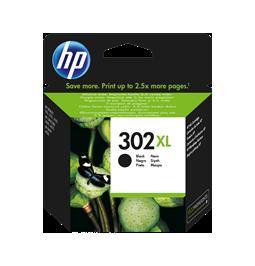 HP 302XL Negro - Cartucho de la marca HP 302XL/FU68AE (Gran capacidad)