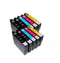 EPSON T603XL Pack de 10 Cartuchos compatibles