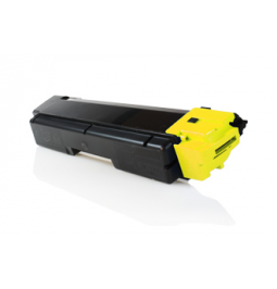Tóner compatible para Kyocera TK-580Y