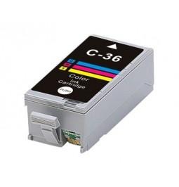 Cartucho de tinta compatible para Canon CLI-36