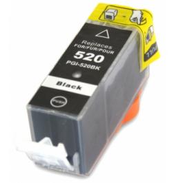Cartucho de tinta compatible para Canon PGI-520BK