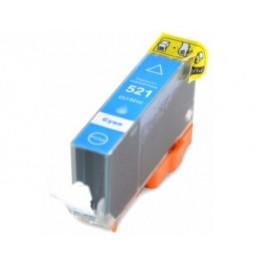 Cartucho de tinta compatible para Canon CLI-521C