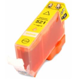 Cartucho de tinta compatible para Canon CLI-521Y