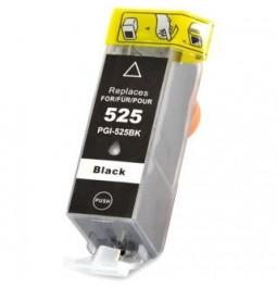 Cartucho de tinta compatible para Canon PGI-525BK