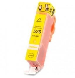 Cartucho de tinta compatible para Canon CLI-526Y