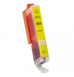 Cartucho de tinta compatible para Canon CLI551YXL