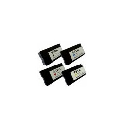 Pack de 4 cartuchos compatibles para HP 950XL/951XL