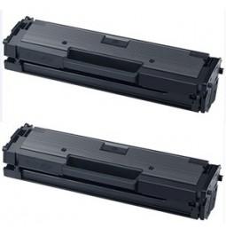 Pack de 2 toners compatibles para Samung MLT-D111S