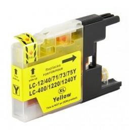Cartutx de tinta compatible per a Brother LC-1240Y