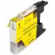 Cartucho de tinta compatible para Brother LC-1280Y