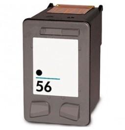 Cartucho de tinta compatible para HP C6656AE (HP 56)