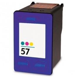 Cartucho de tinta compatible para HP C6657AE (HP 57)
