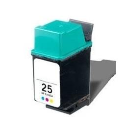 Cartucho de tinta compatible para HP 51625AE (HP 25)