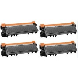 Pack de 4 toners compatibles para Brother TN-2320