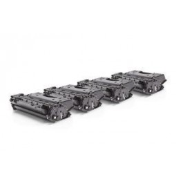 Pack de 4 Tóners compatible para HP CE505X