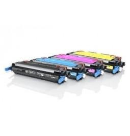 Pack de 4 tóners compatibles para HP Q6470A/Q6471A/Q6472A/Q6473A