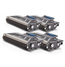 Pack de 4 tóners compatibles para Brother TN-2120
