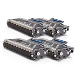 Pack de 4 Tòners compatibles per a Brother TN-2120