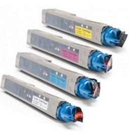 Pack de 4 tóners compatibles para OKI C3300