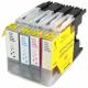 Pack de 4 Cartutxos compatibles per a Brother LC-1280BK/C/M/Y