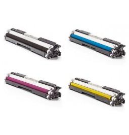 Pack de Tóners compatibles para HP CF350A/CF351A/CF352A/CF353A